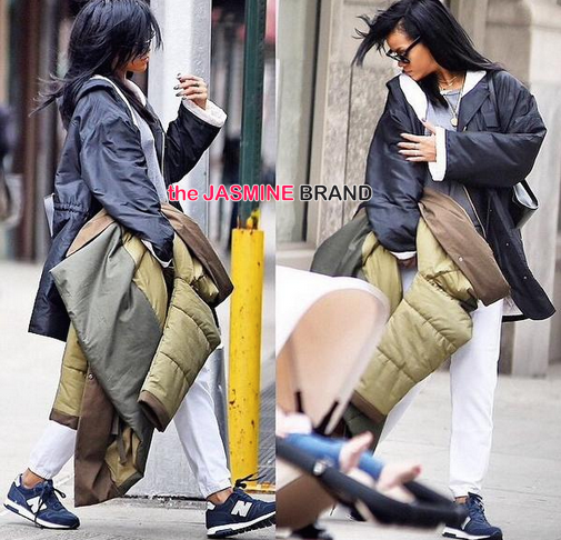 Rihanna in NYC 2014-the jasmine brand