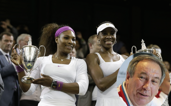 Russian Tennis Federation President Fined — After Referring to Serena & Venus Williams As Men