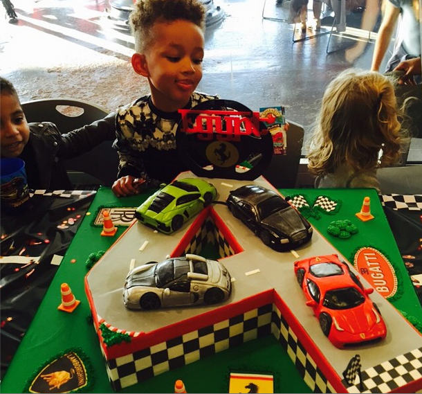 Swizz Beatz & Alicia Keys Host Son Egypt's Birthday Bash
