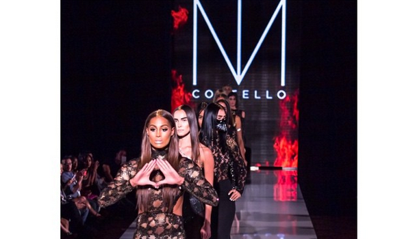 Skylar Diggins Hits the Catwalk, Werks Michael Costello's Runway