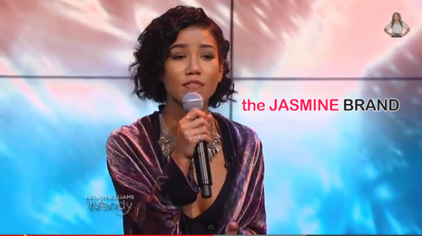 Singer Jhene Aioko-Performs The Pressure-Wendy Williams Show 2014-the jasmine brand