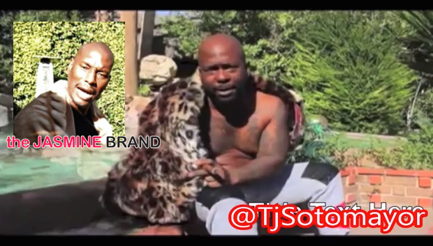 Comedian Spanky Continues Taunting Tyrese: You're Gay & Suge Knight Slept With Your Baby Mama! [VIDEO]