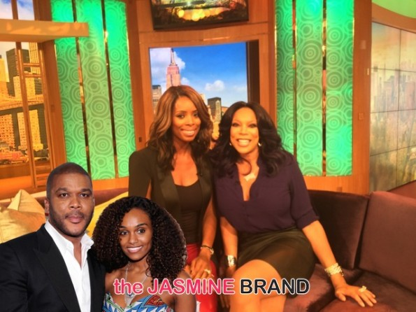 Tasha Smith-Surprised Tyler Perry and girlfriend pregnant-the jasmine brand