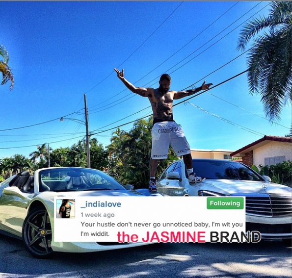 The Game-Denies Sex With Rumored Girlfriend India Love-the jasmine brand