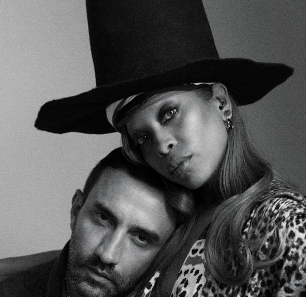 Erykah Badu & Riccardo Tisci Cuddle Up For 'PAPER'