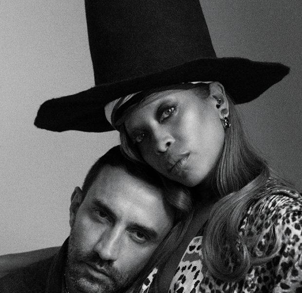 Erykah Badu & Riccardo Tisci Cuddle Up For 'PAPER'