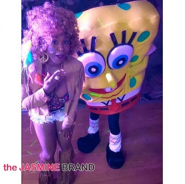 Torrei Hart-celebs-halloween costumes 2014-the jasmine brand