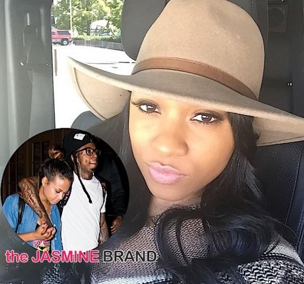 Toya Wright-Calls Lil Wayne Relationship with Christina Milian Hot Mess-the jasmine brand