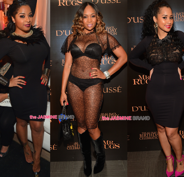 ATL Club Scene: Toya Wright, Tammy Rivera, Marlo Hampton, Monyetta Shaw, Malysia Pargo [Photos]