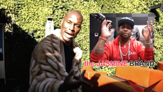 [VIDEO] Tyrese Denies Sleeping With Male Producer to Win 'Baby Boy' Role: I Will Ruin Your Career!