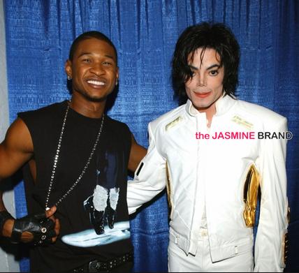 Usher Raymond, Michael Jackson