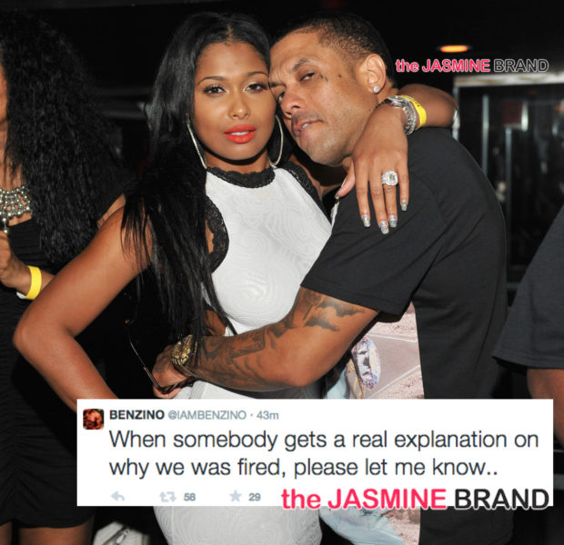 [Pink Slip Problems] Benzino & Althea Confirm They've Been Fired From Love & Hip Hop Atlanta