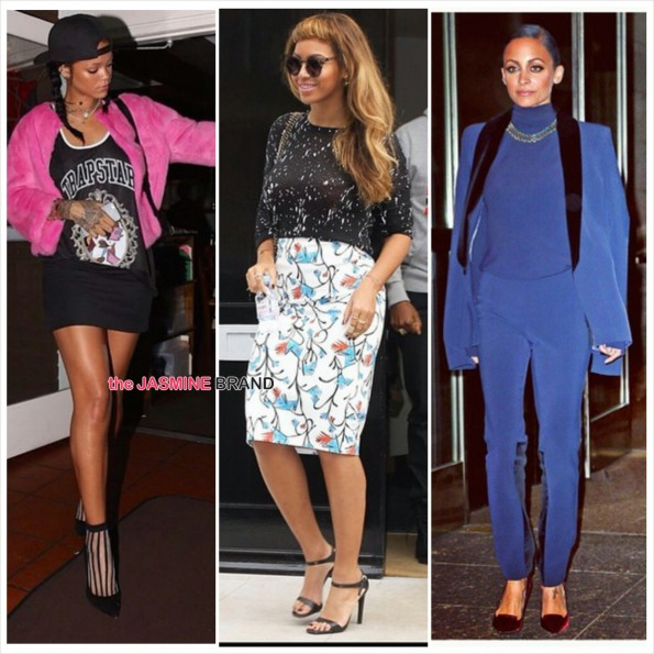 celebrity fashion-rihanna-beyonce-nicole richie-the jasmine brand