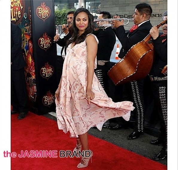 celebrity fashion-zoe saldana-the jasmine brand