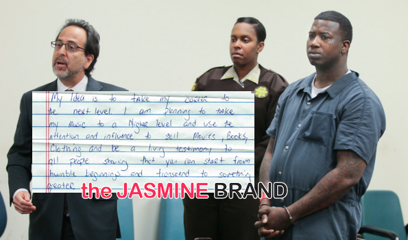 Gucci Mane Is A New Man, Read His Letter From Jail