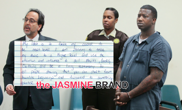 gucci mane-pens letter from jail-the jasmine brand