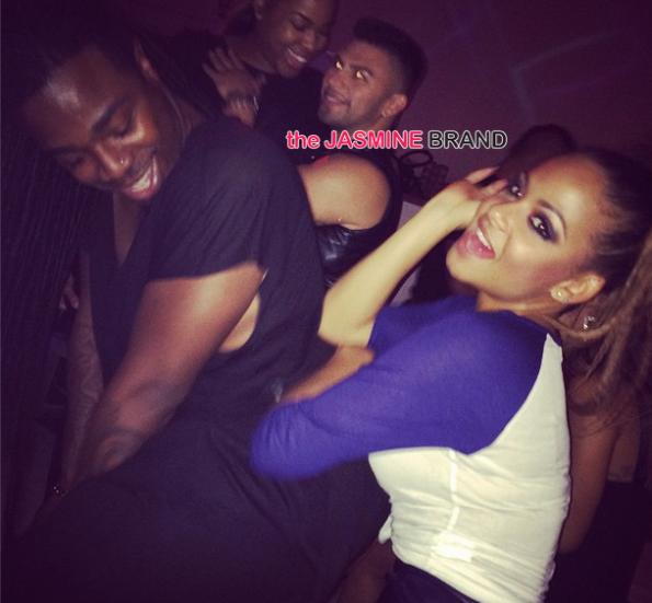 i-Christina Milian birthday party supper club 2014-the jasmine brand