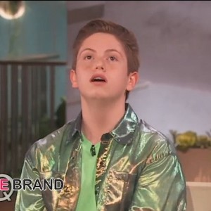i-Viral Sensation Brendan Jordan Visits Queen Latifah Show