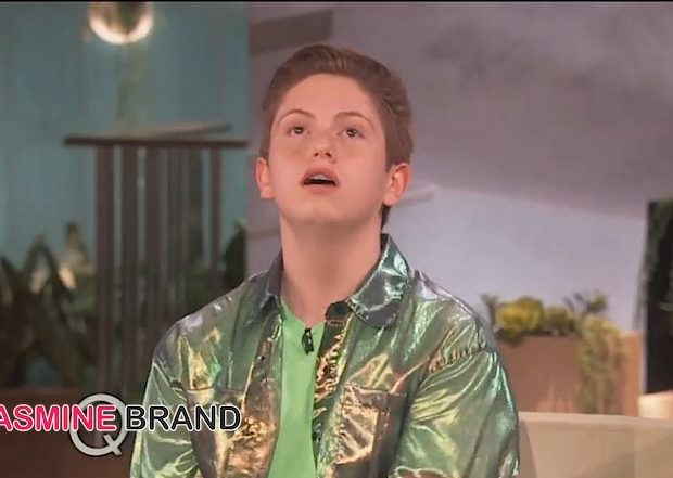 Viral Sensation Brendan Jordan Visits Queen Latifah Show [VIDEO]