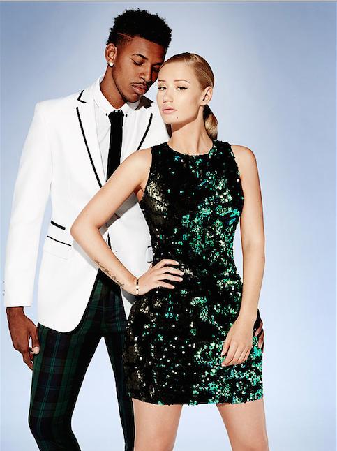 iggy azalea-boyfriend nick young-forever 21 campaign-the jasmine brand