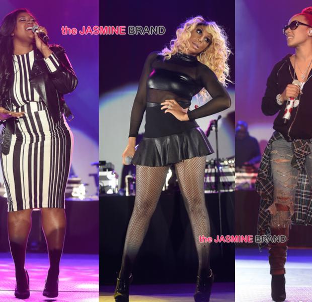 [Photos] Keyshia Cole, Jazmine Sullivan, Tamar Braxton Perform At 'For Sisters Only'