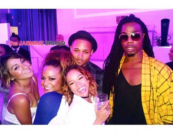 karrueche tran-Christina Milian birthday party supper club 2014-the jasmine brand