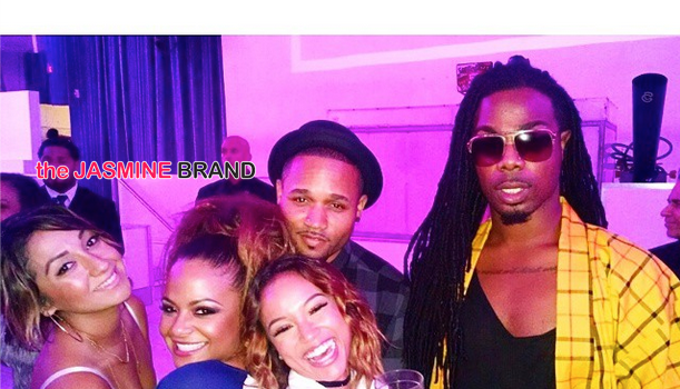 TinaTurnUp! Christina Milian Celebrates B-Day With Karrueche, Chris Brown & Friends