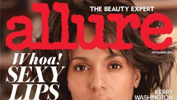 Lip Envy! Kerry Washington Covers 'Allure'