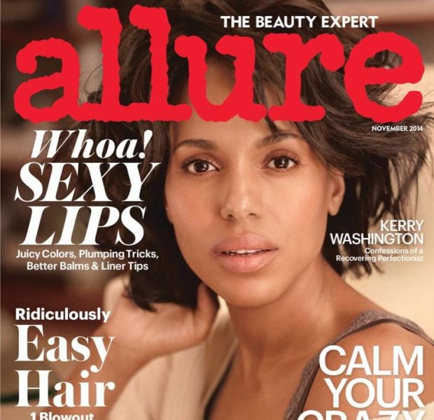 Lip Envy! Kerry Washington Covers 'Allure'