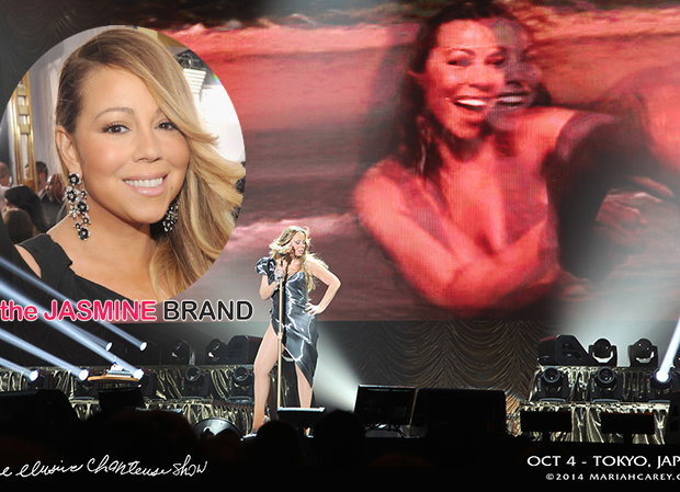 [VIDEO] Sour Notes: Mariah Carey Struggles Vocally During Elusive Chanteuse Tour, See the Footage!