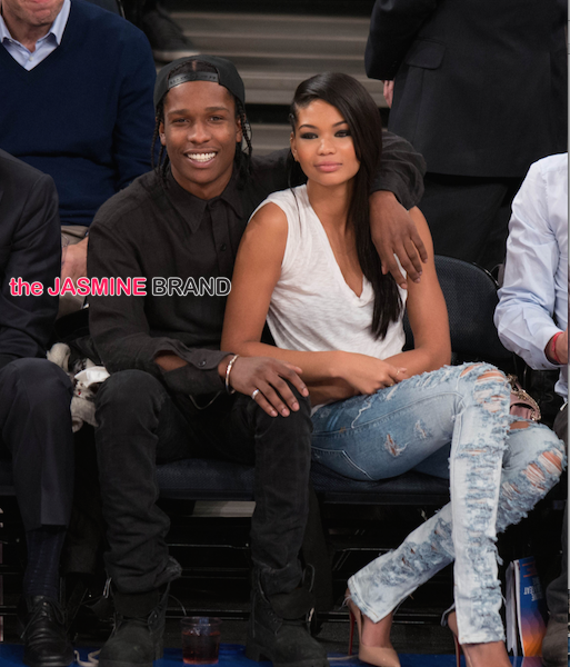 Splitsville, USA: Rapper A$AP Rocky & Model Chanel Iman Break-Up