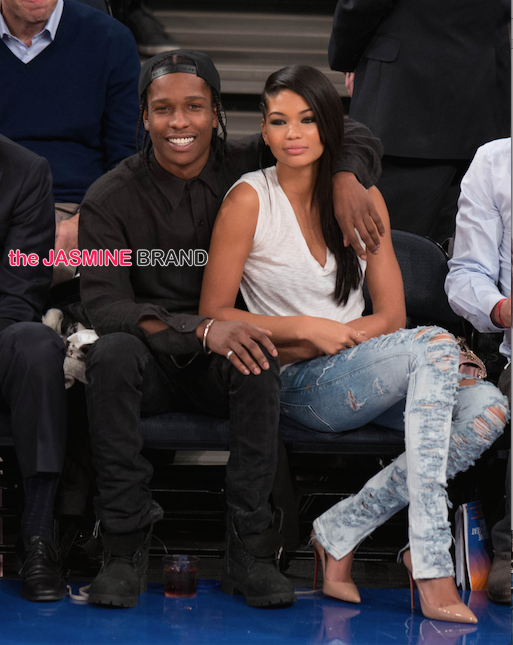 model chanel iman and asap rocky split-the jasmine brand
