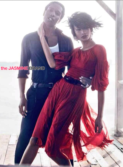 model chanel iman and asap rocky vogue spread-the jasmine brand