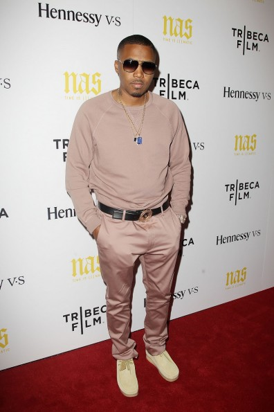 "Tribeca Film's New York Premiere of ""NAS: TIME IS ILLMATIC"" Presented by Hennessy V.S"