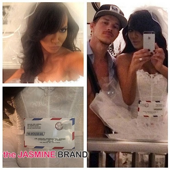naya rivera-celebs-halloween costumes 2014-the jasmine brand