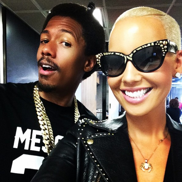 nick cannon and amber rose-not dating-the jasmine brand