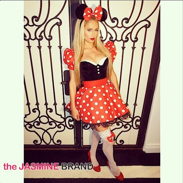 paris hilton-celebs-halloween costumes 2014-the jasmine brand