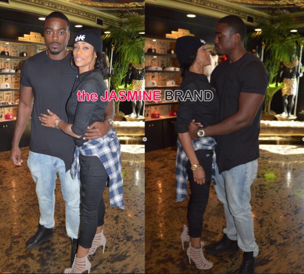 reality star Tami Roman-Spotted with new boyfriend reggie-the jasmine brand