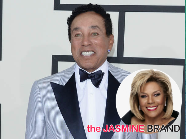 Smokey Robinson & Ex-Wife End Feud, Settle Lawsuit Over Music Royalties (EXCLUSIVE)