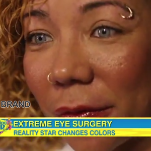 tameka Tiny Defends Controversial Eye-Coloring Surgery on Good Morning America-the jasmine brand