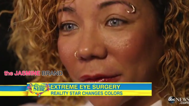 Tiny Defends Controversial Eye Coloring Surgery On Good Morning America [VIDEO]