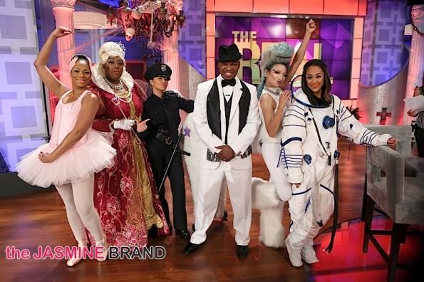 the real co-hosts-neyo-celebs halloween 2014-the jasmine brand