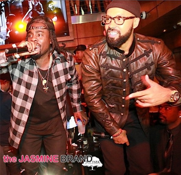 wale-kenny burns-celebrities-howard homecoming 2014-the jasmine brand