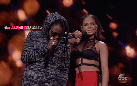 AMAs-Celebrity couples-Lil Wayne-Christina Milian-the jasmine brand