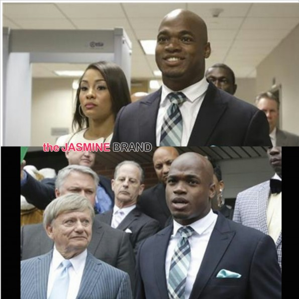 Adrian Peterson-Avoids Jail Time-Child Abuse-the jasmine brand