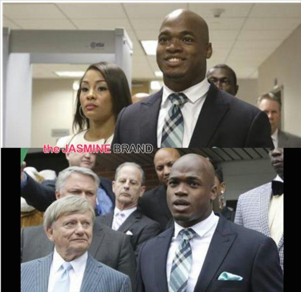 NFL'er Adrian Peterson Avoids Jail Time