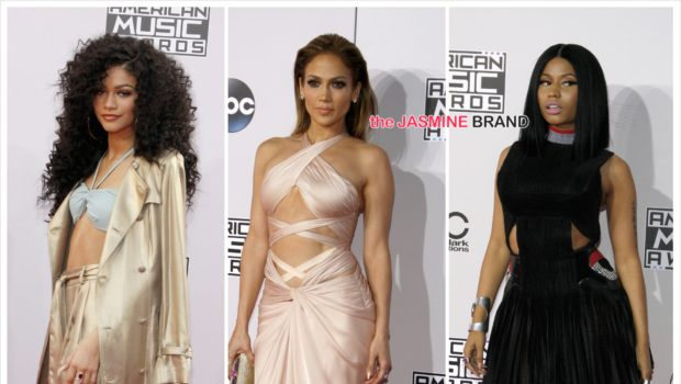 American Music Awards Red Carpet Fashion [Photos] + Full Winners List