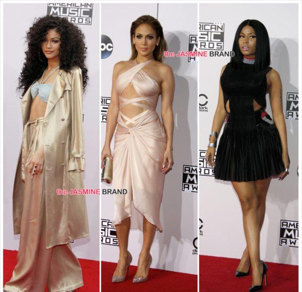 American Music Awards Red Carpet Fashion [Photos] + Full Winners List