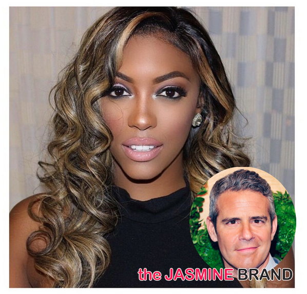 Andy Cohen-Explains Porsha Williams Demotion-Real Housewives of Atlanta-the jasmine brand