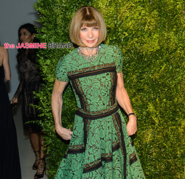 Anna Wintour Apologizes For Lack Of Black Employees: I Take Full Responsibility